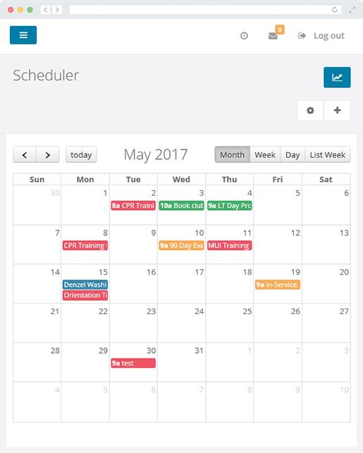 scheduler brittco software